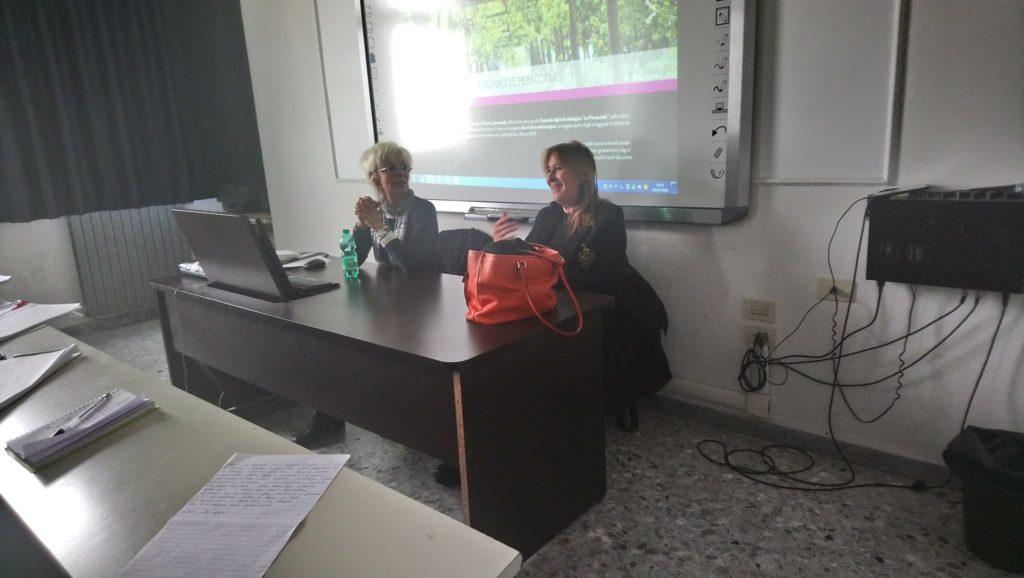 Livia Iaccarino e Licia Granello